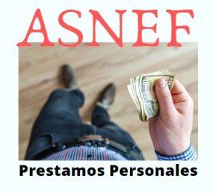 prestamos personales con asnef