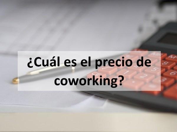 ¿Cuál es el precio de coworking?